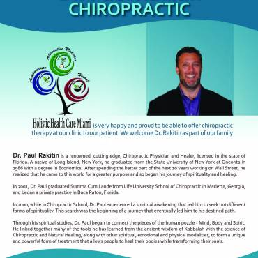 Our Newest Team Member – Chiropractor Dr. Paul Rakitin